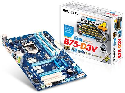 Main B75 gigabyte