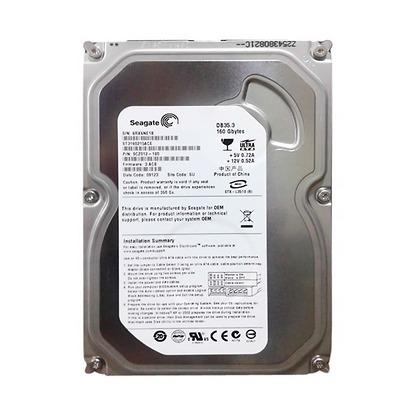 Ô cứng PC SEAGATE Barracuda 160GB - 7200rpm 8MB cache