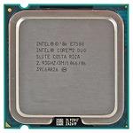 Intel Core 2 Duo E7500 ( 2.93GHz, 3MB L2 Cache, Socket 775, 1066MHz FSB)