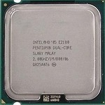Intel Pentium E2180 (2.00 GHz, 2M L2 Cache, socket 775, 800MHz FSB)