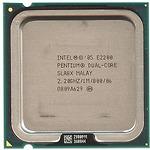 Intel Pentium E2200 (2.20 GHz, 1M L2 Cache, socket 775, 800MHz FSB)