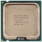 Intel Core2 Duo Desktop E8400 (3.00GHz, 6MB L2 Cache, Socket 775, 1333MHz FSB)