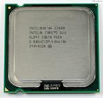 Intel Core2 Duo Desktop E7400 (2.80GHz, 3MB L2 Cache, Socket 775, 1066MHz FSB)