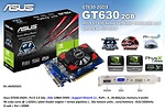 VGA ASUS GT630-2GD3 (NVIDIA GeForce GT 630, DDR3 2GB, 128bits