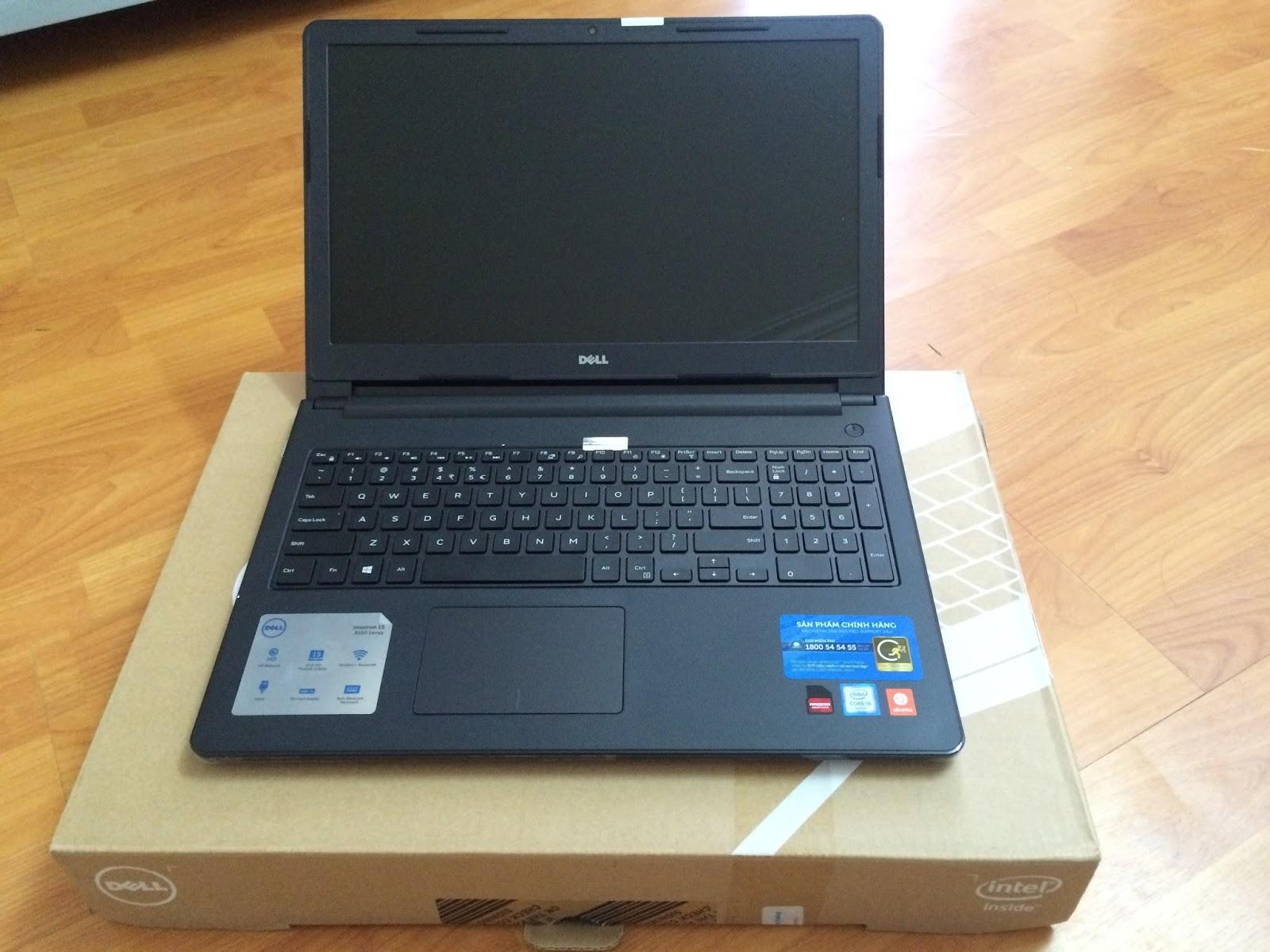 Laptop Cũ Dell Inspiron 3559 - Intel Core i5-6200U Ram4Gb SSD 120gb AMD Radeon R5 M315 MH15.6in