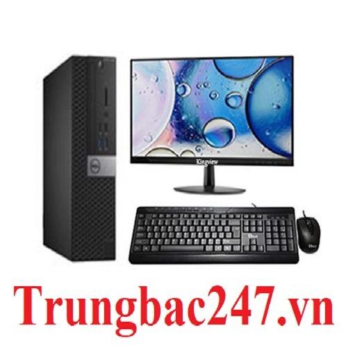Dell H61 3010 Cpu i5 3470, Ram 4GB, HDD 500GB,  Màn Dell 20 inch