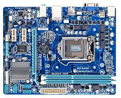Main H61M gigabyte