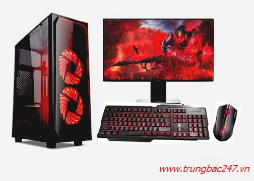 PC GAMING - ĐỒ HỌA (I5 10500/B460/16GB RAM/250GB SSD/GTX 1660 Super/550W/Tản CR-1000GT/RGB