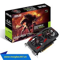 Card đồ họa ASUS CERBERUS GTX1050TI-O4G (NVIDIA Geforce/ 4Gb/ DDR5/ 128 Bits)