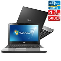 Acer Aspire E1-571 (NX.M09SV.008) (Intel Core i3-3110M 2.4GHz, 2GB RAM, 500GB HDD, VGA Intel HD Graphics 4000, 15.6 inch