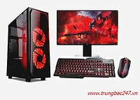 PC GAMING  (I3 10100/H410/16GB RAM/240GB SSD/RX 570/550W/RGB)