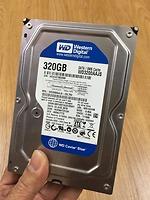 Ổ cứng HDD Western WD 320GB Blue 3.5