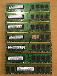 RAM PC samsung DDR2 2GB bus 800 Mhz đồng bộ mỹ