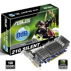 Card màn hình Asus N210-Silent-DI-1GD3 (Geforce 210/ 1GB/ DDR3/ 64bit)