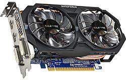 Card màn hình Gigabyte GTX 750Ti - 2Gb - 128 bit - DDR5 (Có nguồn phụ. Hàng nhập khẩu)