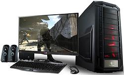 Bộ máy tính core i5 4570/ ram 8gb/ vga GTX 750Ti + Màn 24''