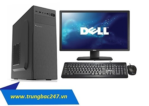 Bộ cây Cpu core i3 8100 Ram 8G SSD 120Gb Màn 18.5