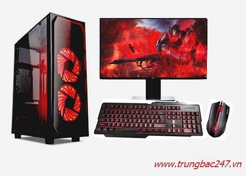 PC GAMING  (i5 9400F/B360/16GB RAM/250 SSD/RX 570/600W/Tản T400i/RGB13
