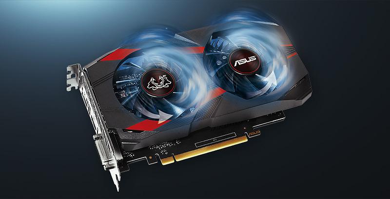 Card màn hình ASUS GeForce GTX 1050Ti 4GB GDDR5 Cerberus OC