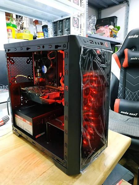 Cây máy tính duo CPU xeon 2689, Ram 64 GB.VGA RX 5570/8GB