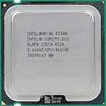 Intel Core2 Duo Desktop E7300 (2.66GHz, 3MB L2 Cache, Socket 775, 1066MHz FSB)