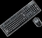 Fuhlen A150G (Keyboard + Mouse Fuhlen Optical Wireless)