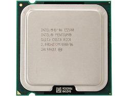 Intel Pentium E5500 (2.80 GHz, 2M L2 Cache, socket 775, 800MHz FSB)