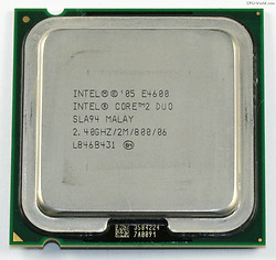Intel Core2 Duo Desktop E4600 (2.4GHz, 2MB L2 Cache, Socket 775, 800MHz FSB)