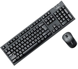 Fuhlen A150G (Keyboard + Mouse Fuhlen Optical Wireless)