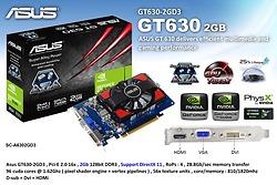 Card màn hình máy tính VGA ASUS GT630-2GD3